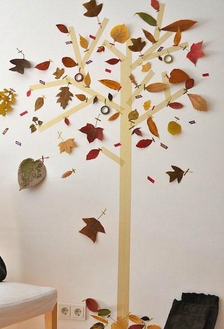 agroarte árbol con cita en la pared